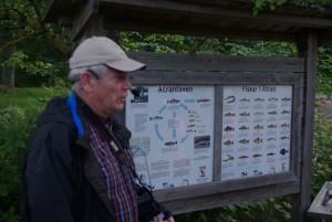 Ingemar berättar om Ätrans 32 fiskarter